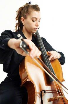 Cellistin Daniela Shemer